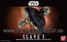 Star Wars modelo Kit, Slave I, 1/144 de Bandai, nuevo embalaje original &, boba/Jango grasa