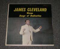 James Cleveland Sings Songs of Dedication~1965 Christian Gospel / Soul~FAST SHIP