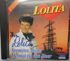 LOLITA (+) original signiert – CD COVER mit CD !!!