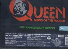 QUEEN News Of The World 40th Anniversary JAPAN SHM 3 CD +LP+dvd Super Deluxe Box