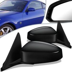Fit 03-09 Nissan 350Z Pair Powered+Heated Side Door Mirror NI1320209 NI1321209