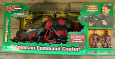 GI Joe Spy Troops Crimson Command Copter Crimson Tomax Xamot NIB