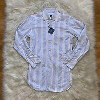 Ike Behar Mens Button Up Down Shirt Retro Freddy Stripes NWT Size Small S
