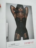 *CATALOGO YAMAMAY NAOMI CAMPBELL Limited Edition lingerie intimo