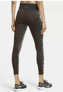 Nike Epic Lux Run Division 7/8 Tights Women's Sz Medium M Burgundy CU6175-677 ✅