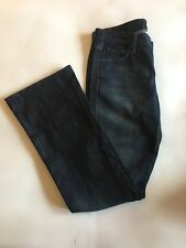 "7 for All Mankind ""A pocket"" Straight Leg Denim Jeans Size 28"