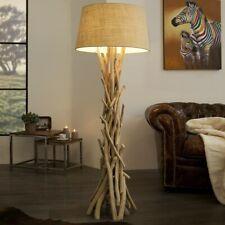 Cagü : Design Lampadaire [Kemang] Beige Bois Flottant Fait Main 155cm