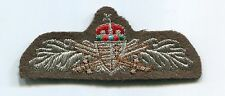 Hungary Hungarian Republic Army NCO Branch Insignia Wing Patch Badge Bullion