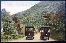 HOLLYWOOD LAUREL CANYON Los Angeles CA~1900's TRACKLESS TROLLEY~FIRST IN AMERICA