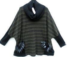 NEU MODA ITALY Tunika Tunic Tunique Pullover XXL 52 54 Lagenlook *