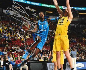 Diamond DeShields Lady Vols signed Chicago Sky 8x10 photo autographed WNBA 5 JSA