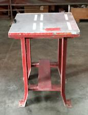 "Industrial Heavy Duty Work Shop Table / 24""L x 24""W x 33""H / Lot #12"