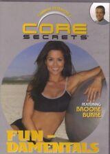 Gunnar Peterson's Core Secrets: Fun-Damentals w/ Brooke Burke (DVD, 2003) NEW