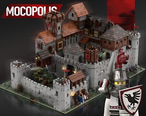 LEGO MOC Medieval Castle #2 | PDF instructions (NO PARTS)