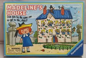 Ravensburger Madeline's House Boardgame Ages 4-8 Boxed 2-4 Players c1995