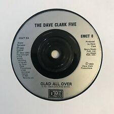 "Dave Clark Five - ""Glad All Over""  7"" (1993) RARE Reissue EMCT 8 (EMI)   VIN6"