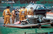 Gilles Villeneuve Ferrari Accident Belgian Grand Prix 1982 Photograph 7