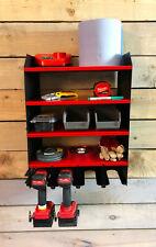 MegaMaxx Large Power Tool Storage Unit Wall Mountable Workshop Garage Organiser