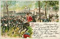 Ansichtskarte Regiment bei Gravelot St. Hubert um 1900  (Nr.871)