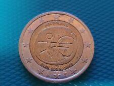 Pièce commémorative de 2 euros € : Pays-Bas Nederland 10 ans de l'euro 2009 EMU