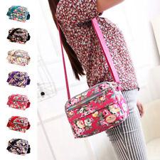 Women Canvas Floral Messenger Cross Body Handbag Shoulder Bag Tote Purse 7Colors