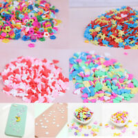 10g/pack Polymer clay fake candy sweets sprinkles diy slime phone suppl TG