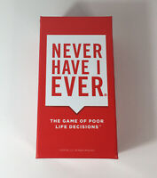 """Never Have I Ever"" The Game of Poor Life Decisions Good Condition"