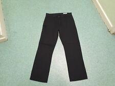 """Denim Co Regular Jeans Waist 30"""" Leg 30"""" Black Faded Mens Jeans"""