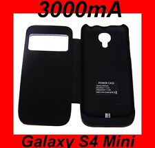 ★ 3000mAh Coque Chargeur BATTERIE Intégrée ★ Samsung GALAXY S4 Mini i9195 i9190