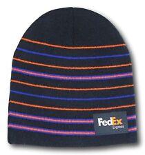 FedEx Express Microstripe Beanie Hat Cap Men & Women