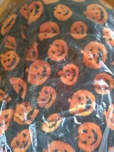 "Thro by Marlo Lorenz Halloween Jack-o-lantern Plush 50""x70"" Throw Blanket"
