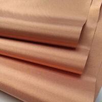 EMF Blocking RF RFID Shielding Conductive Copper Fabric 1.1M*1M*0.06mm