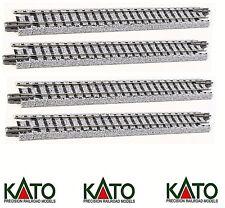 Escala N - Kato Unitrack carriles recto 124mm 20-020 Neu