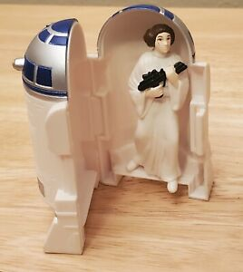 Star Wars Taco Bell 1996 Kids Meal TOY R2-D2 with Princess Leia inside.