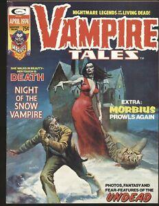 Vampire Tales # 4 - 1st Lilith cameo, Boris cover Fine/VF Cond.