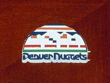 DENVER NUGGETS Vintage Old NBA RUBBER Basketball FRIDGE MAGNET Standings Board
