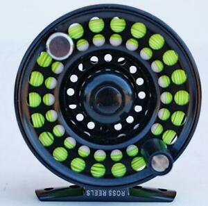 Ross Evolution 1 Fly Reel, black for 2-4 wt lines - mint condition