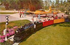 Vintage Postcard Nut Tree Miniature Railroad & Airport, Vacaville CA Solano Co.