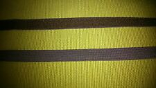 10 metres 10mm chocolate brown elastic lingerie underwear Free UKP&P