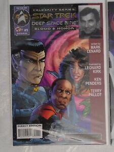 Star Trek DS9: Blood & Honor - Malibu Comic #1 - Autographed by Mark Lenard