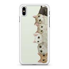 Hermoso Peluche Adorable Lindo Mini teléfono 2D Gatito familia maravilloso Estuche Cubierta