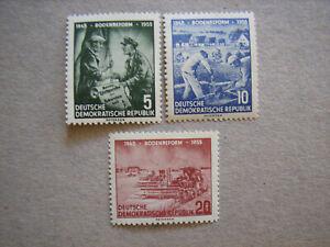 DDR , Mi. Nr. 481 - 83 postfrisch , s. Foto