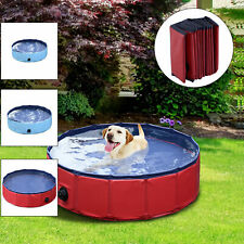 120CM*30CM PVC Portable Pet Dog Bath Pool Foldable Bath Paddling Pool Bathtub