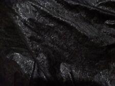chute de tissu jersey lycra sérigraphié noir vente au metre