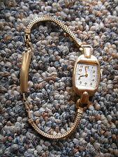 Old Vintage or Antique Elgin Watch Forstner 1/20 12K Gold Filled USA W Basemetal