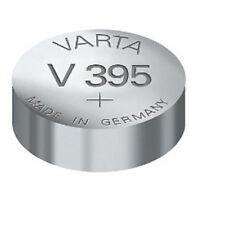 5 Piles de montre Varta V395/V399, SR57, SR927W SOUS BLISTER UNITAIRE !