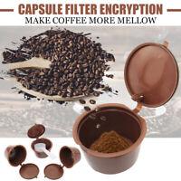 4 Nachfüllbare Kaffee Kapseln Kompatibel Löffel Adapter für Dolce Gusto !