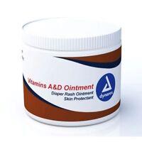 12 Dynarex A & D Ointment 15 oz Jars Scented A&D CASE of 12 Burn Rash Skin
