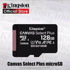 Targeta micro SD Plus, KINGSTON CANVAS, clase 10, de 16GB a 512GB