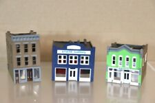WALTHERS N SCALE AMERICAN 2 & 3 STORY CITY STORE LOTTERY AQUATIX BUILDING MODEL